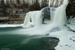 Freezing Falls (Ripma) Tags: trees snow ice rock waterfall indiana owencounty fallingwater cataractfalls waterfallcanyon icyfalls indianawaterfall grouptripod ericripma cataractfallsrecreationarea owencountywaterfall