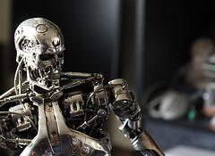 Terminator Cinemaquette T-800 #371 (bernov69) Tags: metal silver skeleton robot replica cameron terminator figurine 13 android t2 jamescameron terminator2 cyberdyne skynet cinemaquette judgmentday 24inches t800 endoskeleton efs1755 toynami cyberdynesystems canonefs1755 canon40d endoskelleton skynetcyberdyne