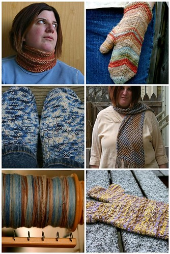 January knitting round up