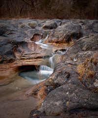 Bathtub Rocks at JT Nickel Wildlife Preserve