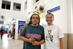 Me with Papa Rock, Ramli Sarip
