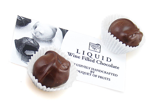 Wine Filled Chocolate