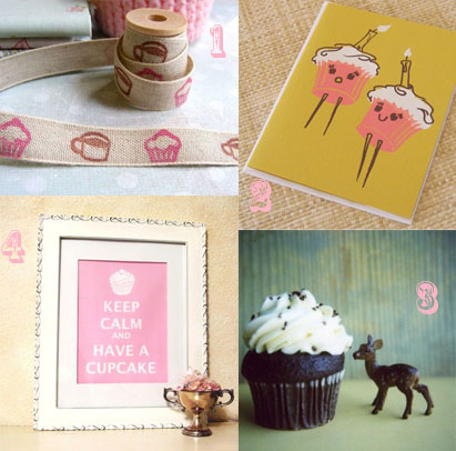 Cupcake Finds on Etsy