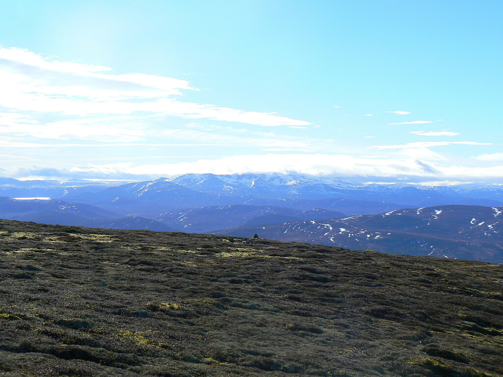 Lochnagar from Morven