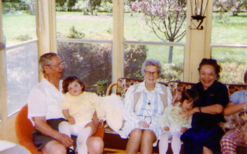 Mentges family, Easter 1980