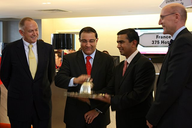 S. Iswaran officiates at ibis launch