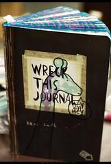 heygirlhey (zzmarissa) Tags: giraffe greenandpurple wreckthejournal wtj book pages kerismith arrow paper