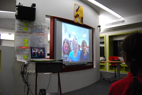 Skype with Benton Elementary School