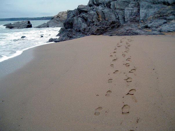 Hemmick Beach, nr St Austell, Cornwall
