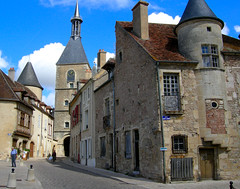 Avallon   ....A Burgundy Town (keithhull (offline this weekend)) Tags: old france town burgundy historic clocktower roofs explore deserted avallon blueribbonwinner fifteenthcentury bej abigfave platinumphoto isawyoufirst flickrdiamond theperfectphotographer seeninexplore73200937