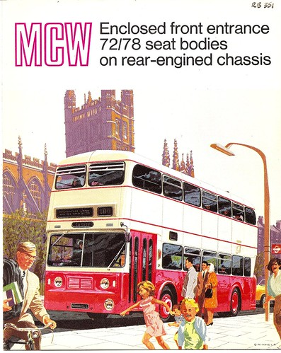 Metro-Cammell Weymann bus body leaflet, 1966 | Flickr - Photo Sharing!