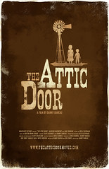 The Attic Door Theatrical Poster 1 - Designed by Julie McLaughlin