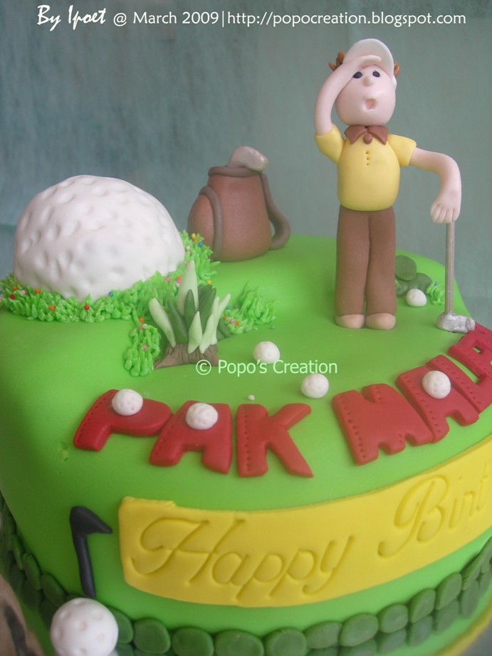 Golf Cake for my BOS