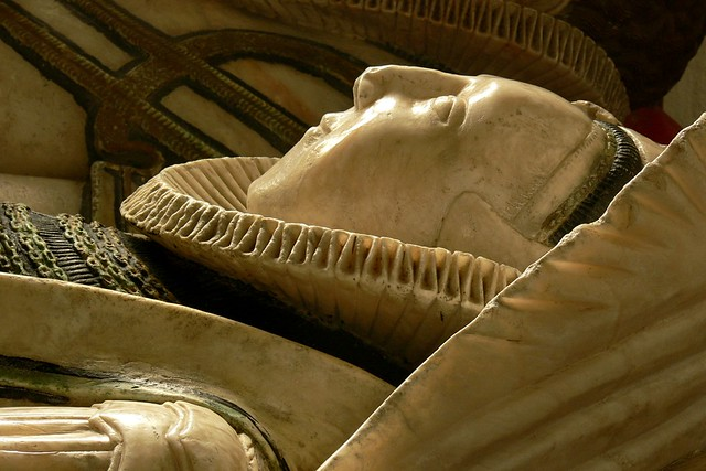 Effigy of Anne Peyto, late tudor