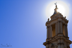 Sunstar From The Piazza Navona (Sean Molin Photography) Tags: city rome roma beautiful soldier italia european roman epic starburst gladiator mediteranian sunstar vacationeuropeitalyrome2009marchvacationitalli vacationeuropeitalyrome2009marchvacationitallian seanmolin wwwseanmolincom