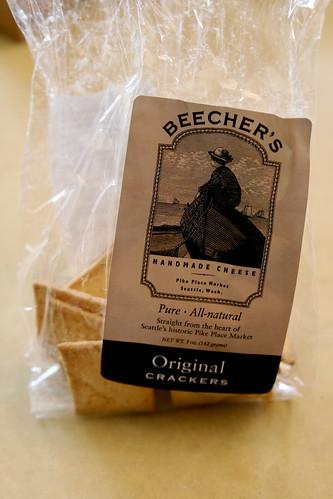 Food find: Beecher's crackers