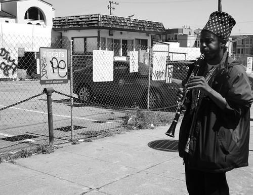Clarinet Solo in Black & White