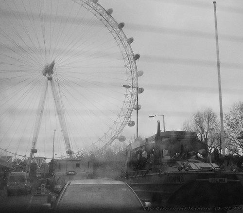 Blurred London Eye