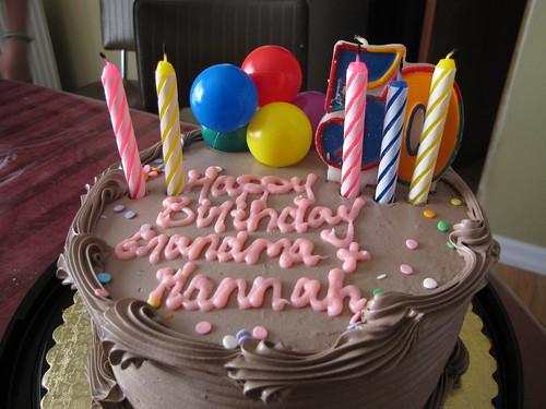 A dual birthday cake