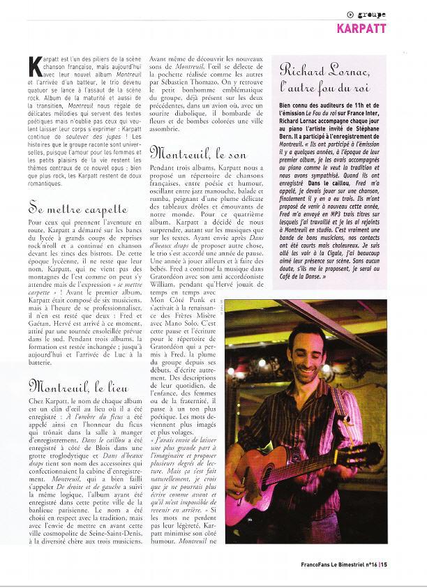 ARTICLE FRANCOFANS MARS 2009 3451058158_25dbaae133_o