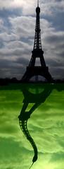 Eiffel Tower Pistachio Ripple Delight (Tony Shertila) Tags: paris france eiffeltower toureiffel bej april2009 mywinners goldstaraward