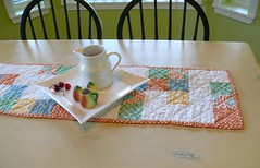 Spring table runner give away