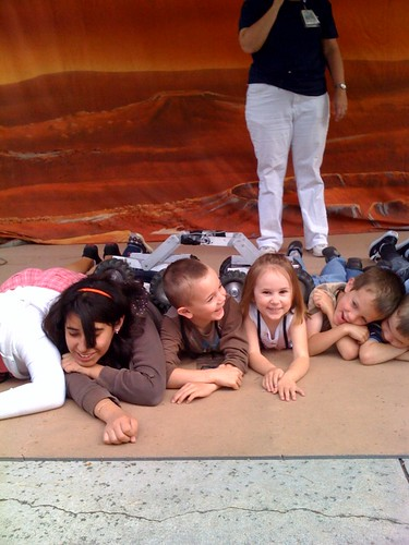 The kids are on mars!