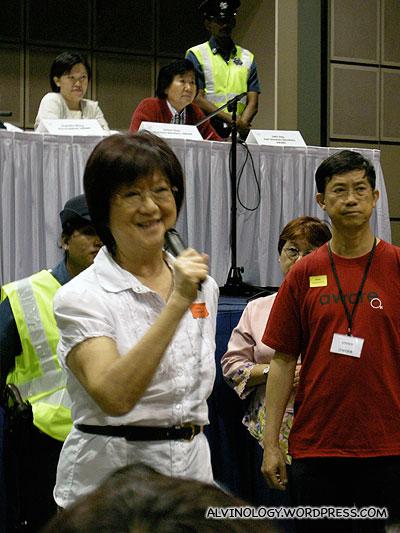 A smirking Dr. Thio Su Mien, Feminist Mentor of Singaporean women