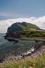 Jeju_5684-2 (Flash Parker) Tags: islands nikon rocks hiking korea beaches oceans southkorea jeju jejudo hallasan seongsan d90 seogwipo sunrisepeak ilchulbong hallamountain seongsanilculbong gettyimageskoreaq1