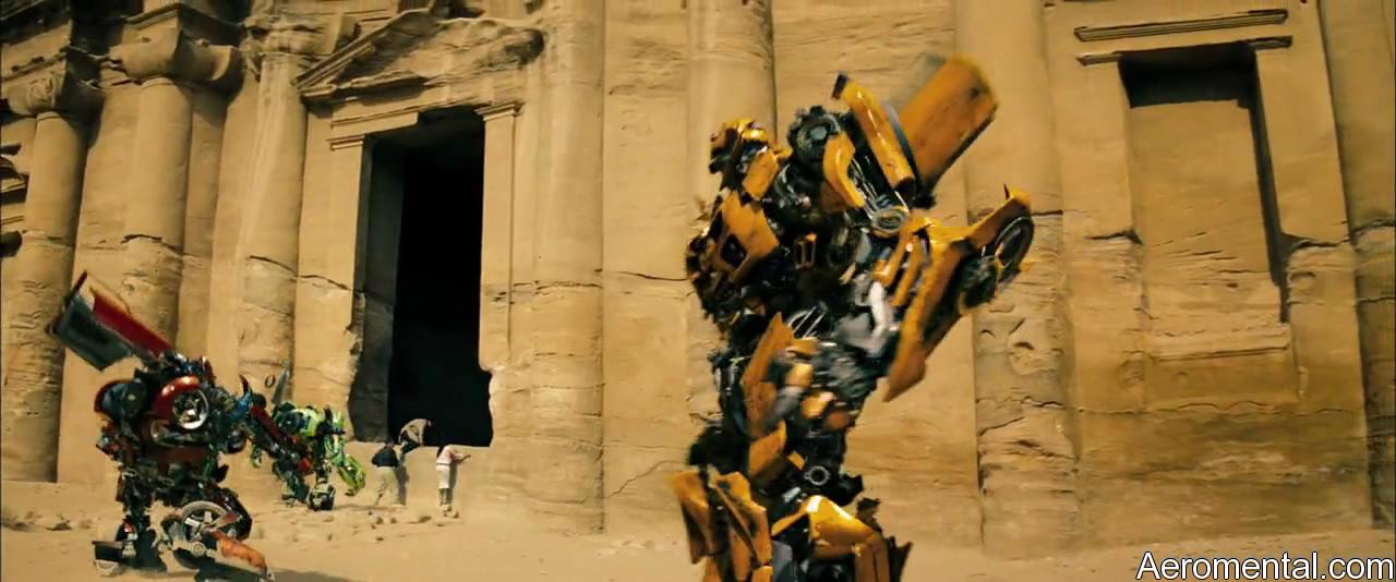 Transformers 2 puerta gigante