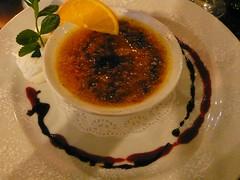 Lemon and Passionfruit Crème Brulée