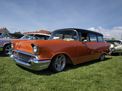 Turtleball2009-Black-and-orange-Chevy-57-wagon-001 (Roadtraveller) Tags: show 2 usa color colour classic cars chevrolet car copenhagen wagon denmark us photo high foto image olympus run hires chevy chrome american definition bil 1957 restored resolution hi hd krom custom rez res danmark 2009 tone meet 57 def kbenhavn billede hidef crome amager twotone amerikaner hirez rebuildt buildt qualiti roadtraveller turtleball