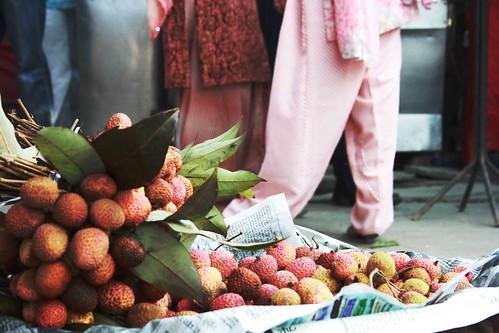 Lychees in Delhi