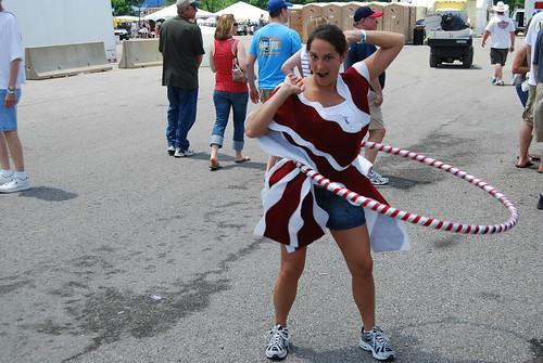 Bacon Hula Hoop