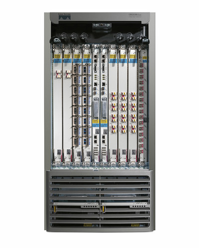 Cisco CRS-1 8-Slot Single-Shelf System with housing