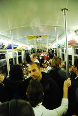 End of the day... (-Tripp-) Tags: urban chicago underground subway illinois cta publictransportation blueline trains el september l masstransit chicagotransitauthority chicagoist septemberissue trainsmagazine