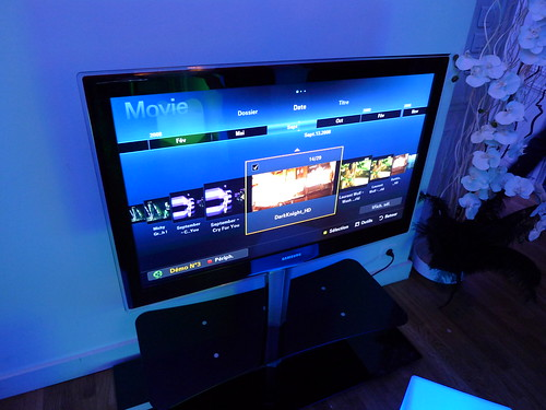 Nouveaux écrans LED Samsung - Soirée de présentation