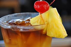 Mai Tai (sfPhotocraft) Tags: ice bar cherry oahu drink cocktail pineapple rum honolulu sheraton refreshing royalhawaiian maitai garnish maitaibar