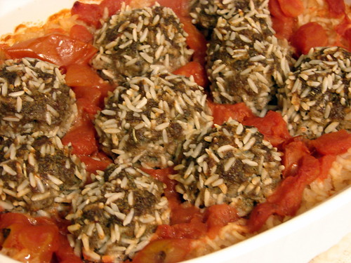 Porcupine Meatballs (Kid Food)