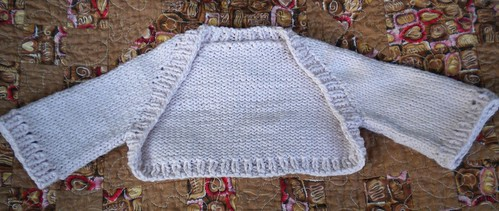 Confection Baby Shrug