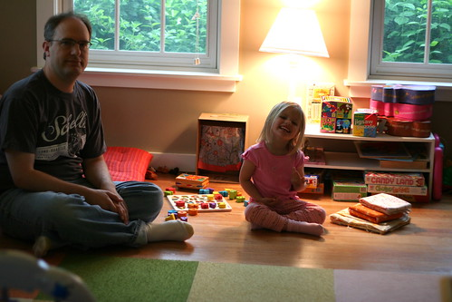 Rainy day in the playroom