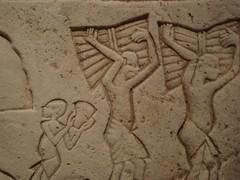 Workers of Amarna (meechmunchie) Tags: ancient egypt revolution egyptian 18thdynasty akhenaten tutankhamen ancientegypt tutankhamun tutankhamon thutmose newkingdom amarna tuthmose talatat akhetaten rammeside atenist egyptiancourt