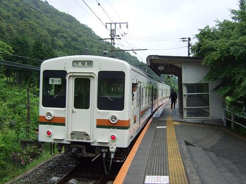 湯谷温泉駅。