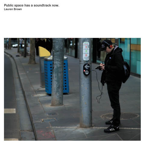 Public space has a soundtrack now cover