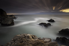 (maxxsmart) Tags: ocean california longexposure sunset bw seascape beach nature water clouds rocks pacific shore lee pointreyes timedexposure mcclures 1740f4l canoneos5dmarkii bw10stopnd leendgrad thanksmattforaddingthetagsithoughtiwasgoingcrazywhenisawthese