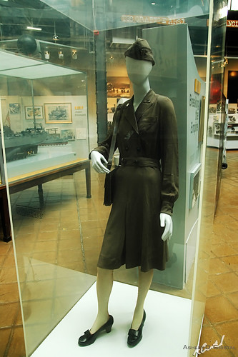 Navy Nurse Corps Officer's Working Uniform at the U.S. Navy Museum