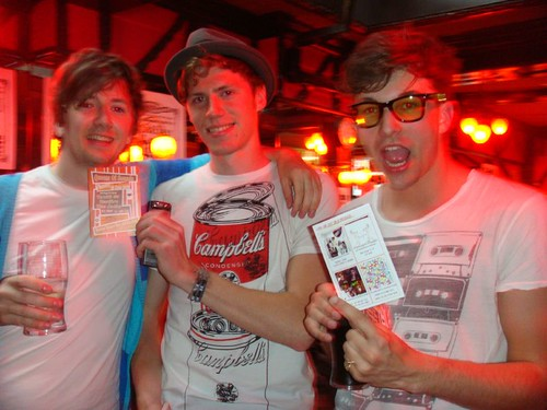 The Jacks with QOS Party Flyer! it's 28th June 2009!!