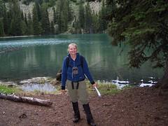 BC at Flat Iron Lake.
