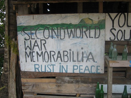 World War II Museum, Havannah Harbor, Vanuatu
