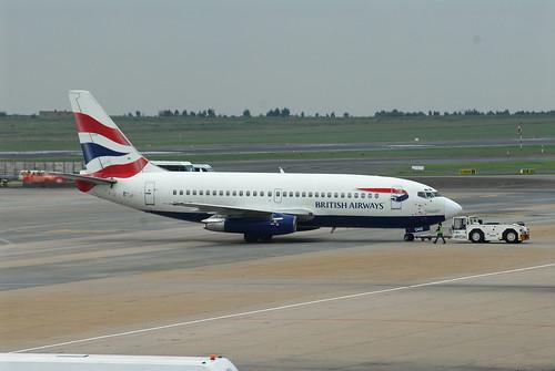 British Airways (Comair) 737-200 ZS-OKE